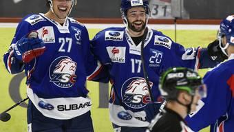 Roman Wick hat gut lachen: Der ZSC-Stürmer mit der Nummer 27 trifft in der Overtime