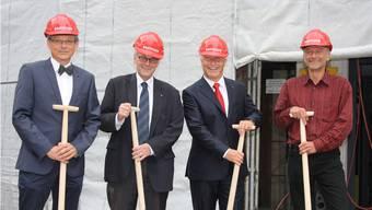 Für den Verwaltungsrat unter Vorsitz von Matthias Miescher gilt es erneut anzupacken. Aber nach dem Spatenstich bei der Hauptfiliale gibt es diesmal keine bauliche, sondern eine strategische Baustelle.