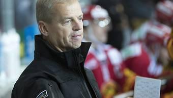 Coach Bengt-Ake Gustafsson derzeit mit Langnau im Hoch
