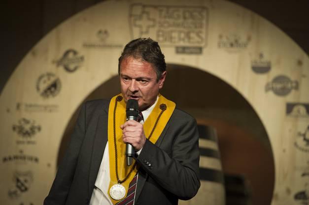 Thomas Bucheli - der Ordensträger des letzten Jahres