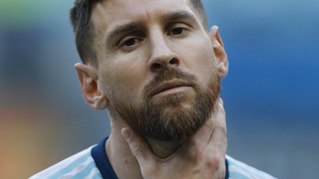 Messi kommt mit einer Spielsperre davon