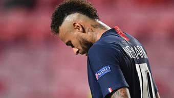 Neymar war nach dem verlorenen Final untröstlich