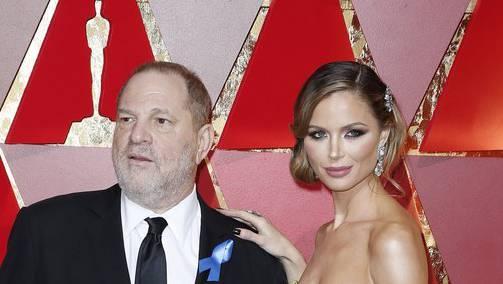 Da waren sie noch ein Paar: Georgina Chapman mit ihrem Noch-Ehemann Harvey Weinstein an der Oscar-Verleihung im Februar 2017.