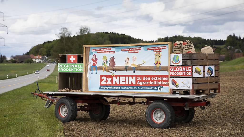 Mehrheiten gekippt – Agrarinitiativen würden nun doch abgelehnt