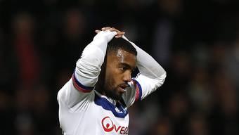 Alexandre Lacazette verschiesst einen Penalty, trifft wenig später aber trotzdem für Lyon