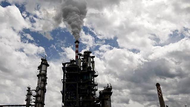 Die betroffene Raffinerie