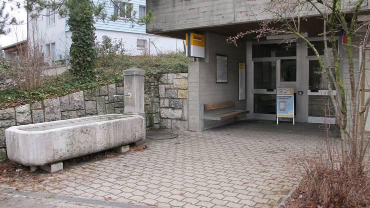 Ort des Geschehens am 24. Juli 2009: in der Schalterhalle der Poststelle Welschenrohr.