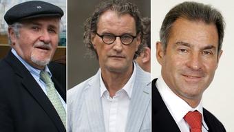 Geri Müller will die Ermittlungen auf Josef Bollag (li) und Sacha Wigdorovits ausweiten.
