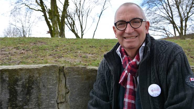 Bruno A. Wirth ist Gesamtkoordinator des 750-JahrJubiläumsfestes. Bei ihm laufen die Fäden des gut50-köpfigen OK zusammen.