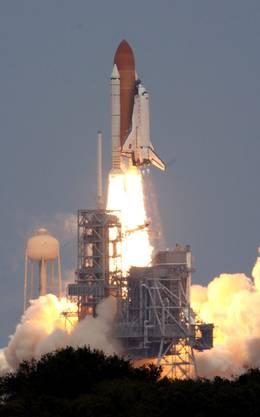 Der Traumstart der US-Raumfähre «Atlantis».