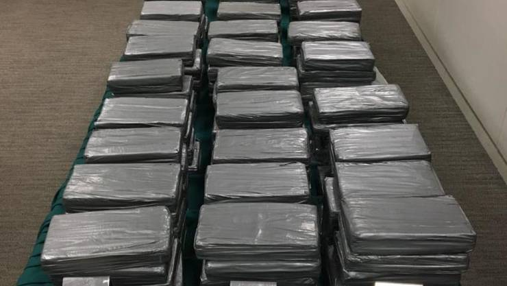 Grosser Fang in Hamburg: Die Polizei beschlagnahmte über vier Tonnen Kokain. (Symbolbild)