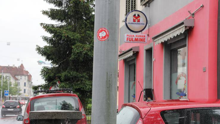 Kleber im Wynental: «Asylantenheim? Nein Danke!»