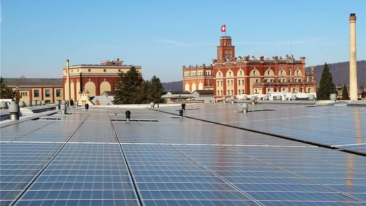 Die Photovoltaikanlage des Feldschlösschens lieferte in den Monaten Juli und August dieses Jahres rund 25 Prozent mehr Strom als im gleichen Zeitraum 2014. zvg