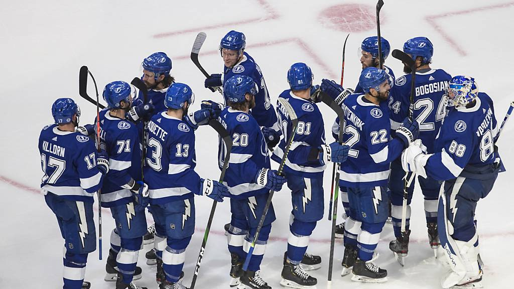 Den Tampa Bay Lightning gelang ein Start in die Serie nach Mass