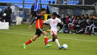 U15 Belgien gegen Schweiz in Grenchen