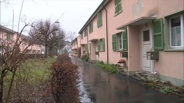 Mit Radium verstrahlte Häuser