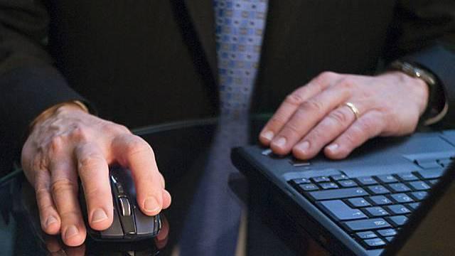 Stellenangebote im Internet sinken
