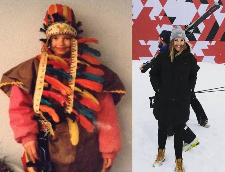 Hatte definitiv mehr Freude an der Fasnacht: FM1-Morgenredaktorin Linda Aeschlimann als stolze Indianerin