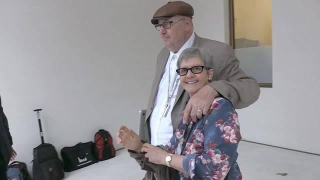 Prozess gegen Dieter Behring (Mai 2016): Seine Frau Ruth steht ihm zur Seite