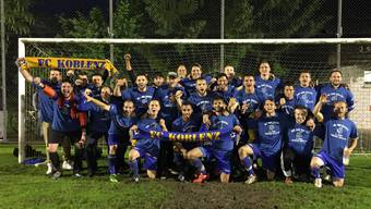 FC Koblenz feiert Aufstieg in 2. Liga