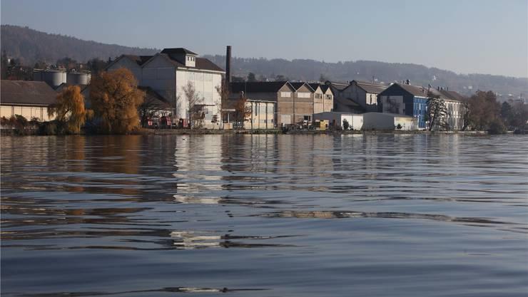 Uetikon beschliesst an der Gemeindeversammlung für 26 Millionen Franken Land am See zu erwerben. (Sabine Rock)