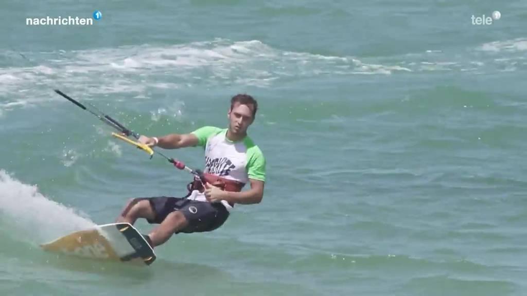 Nidwaldner Kitesurfer triumphiert in Brasilien