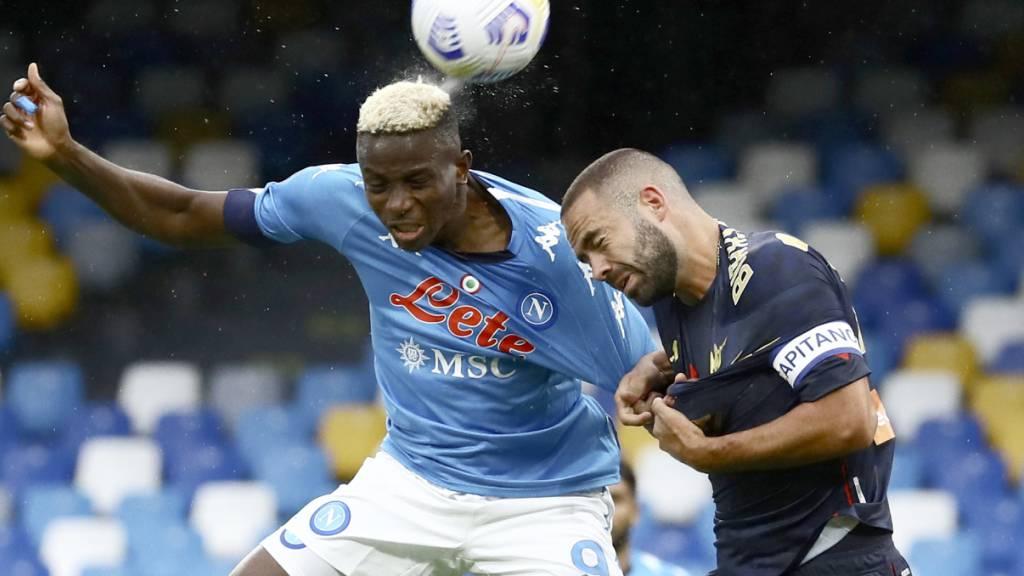 Genoa verliert gegen Napoli 0:6