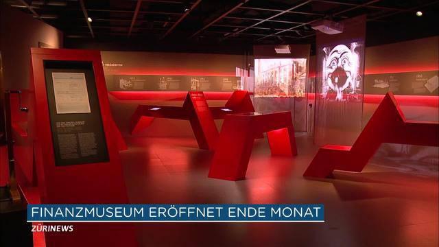 Erstes Finanzmuseum der Schweiz wird eröffnet
