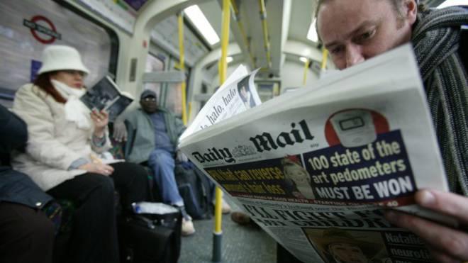 Von Wikipedia auf den Index verbannt: Das britische Revolverblatt «Daily Mail». Foto: imago/Newscast