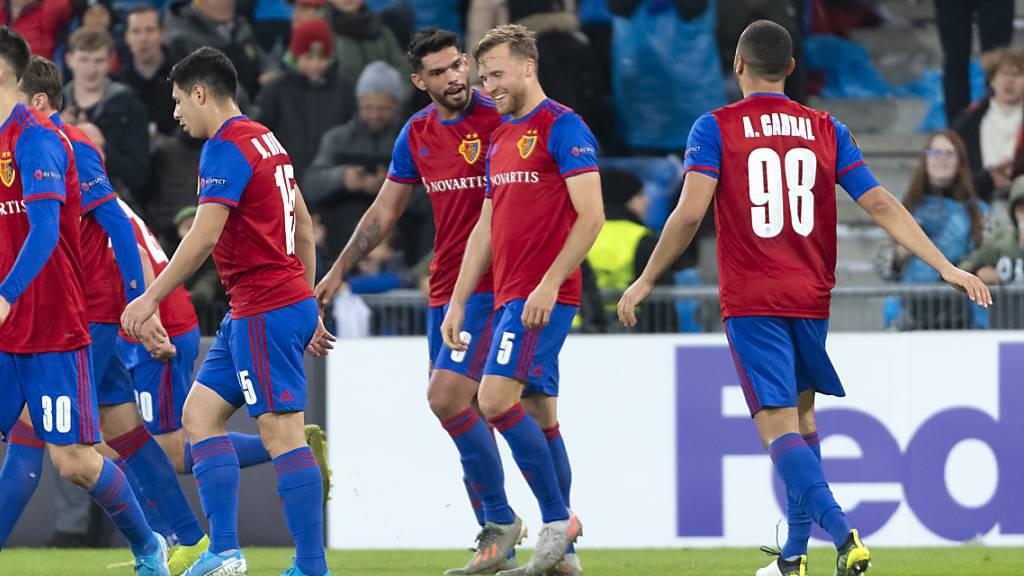 Der FC Basel qualifiziert sich vorzeitig für die K.o.-Phase