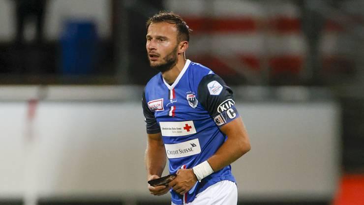 Muss der Captain beim FC Aarau wieder auf die Ersatzbank?