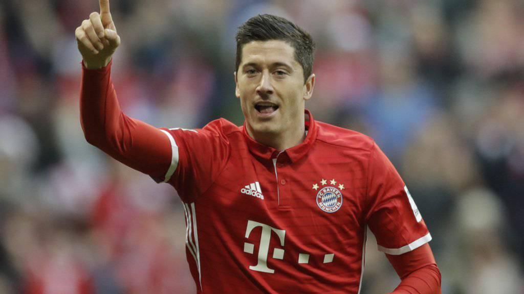 Robert Lewandowski geht noch viele Jahre für Bayern München auf Torejagd