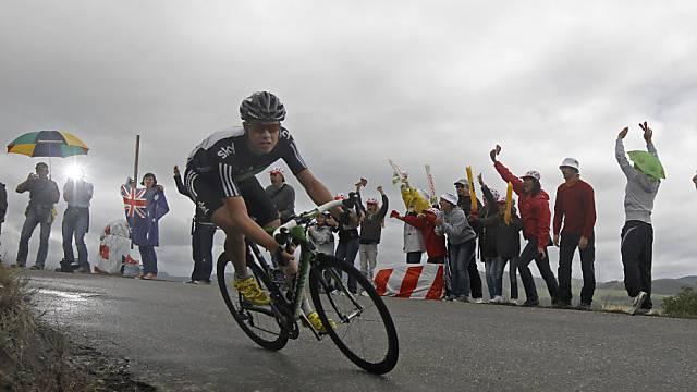 Edvald Boasson Hagen feiert 2. Etappensieg