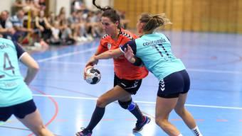 Mary Bütikofer hängt nach über 20 Jahren ihre Handballschuhe an den Nagel.