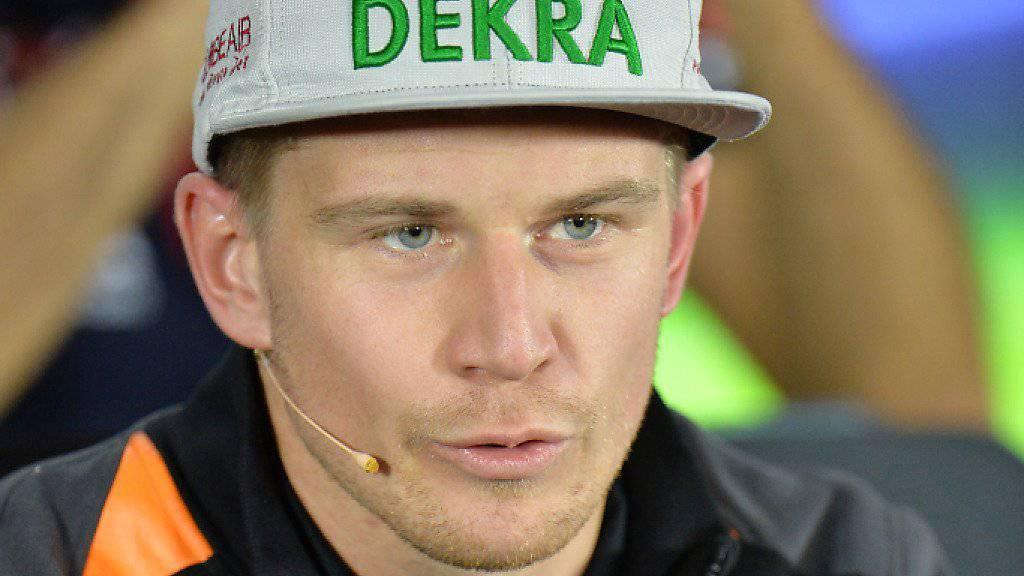 Nico Hülkenberg bleibt Force India treu