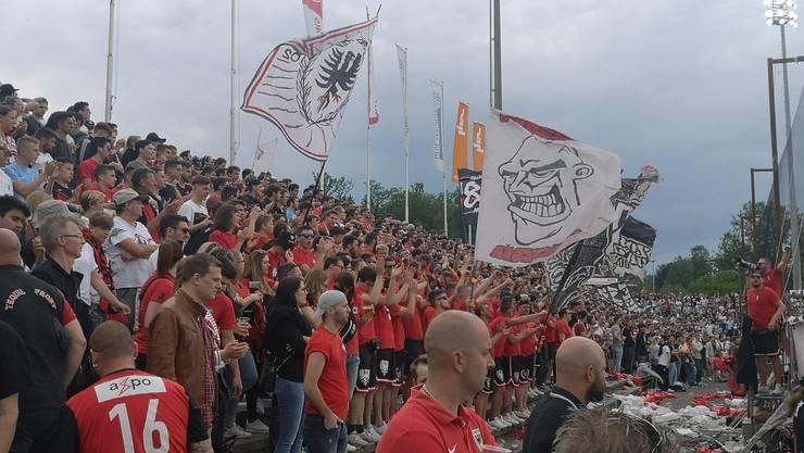 Gibts am kommenden Sonntag einen neuen Zuschauerrekord? Den Match gegen Rapperswil-Jona verfolgten 6958 Fans.