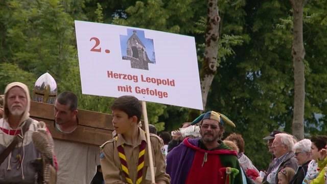 Vor 700 Jahren verjagten Eidgenossen die Habsburger aus dem Land