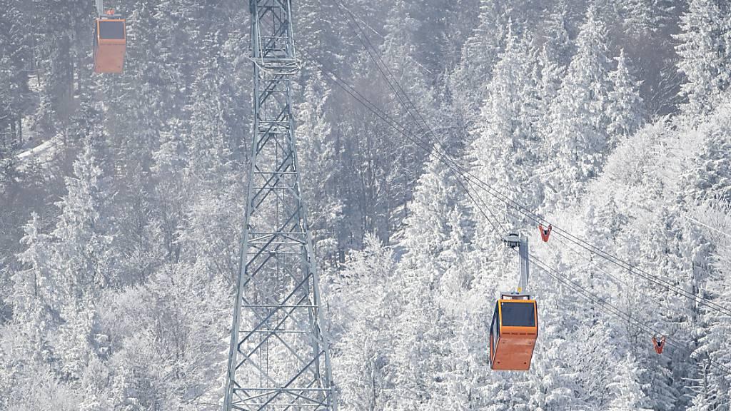 Bis Ende Februar ein Fünftel weniger Gäste auf Schweizer Seilbahnen