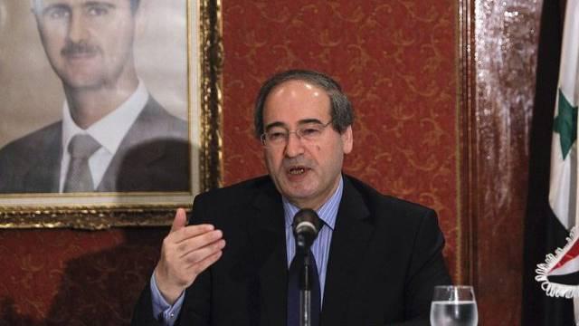 Syriens stellvertretender Aussenminister Mekdad kritisiert die Türkei (Archivbild)
