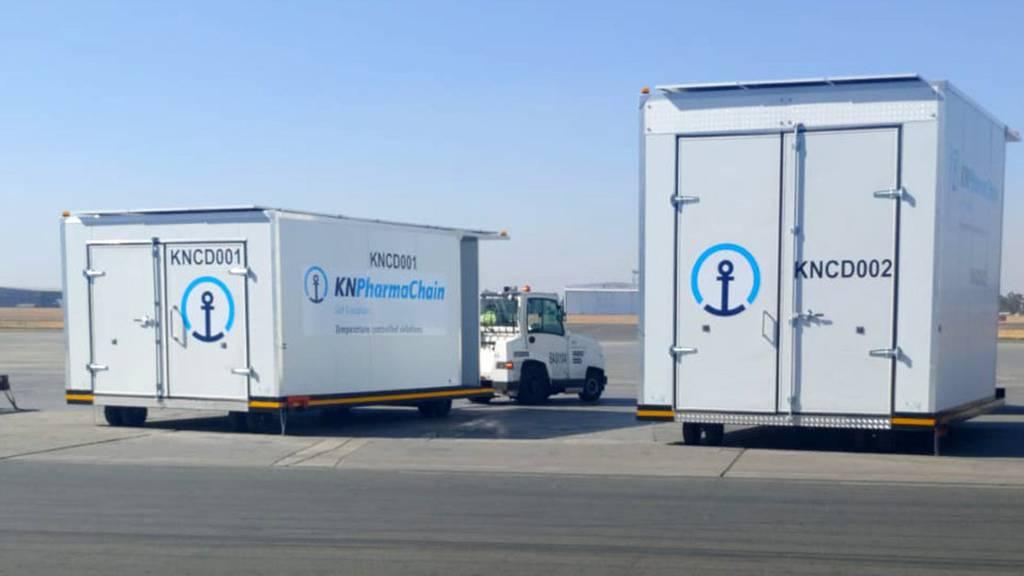 Kühne+Nagel erweitert Netzwerk für den Transport von Impfstoffen