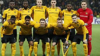 Nur wenn die Young Boys (Bild) noch weiterkommen und YB und Basel in der Europa League in den Playoffs kräftig punkten, kann die Schweiz im UEFA-Ranking noch vorstossen