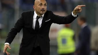 Luciano Spalletti zeigt nun bei Inter Mailand, wo es lang geht