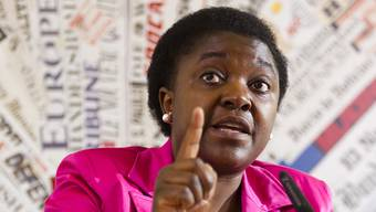 "Calderolis ""Orang-Utan"": die damalige italienische Integrationsministerin Cécile Kyenge (Aufnahme vom Juni 2013)."