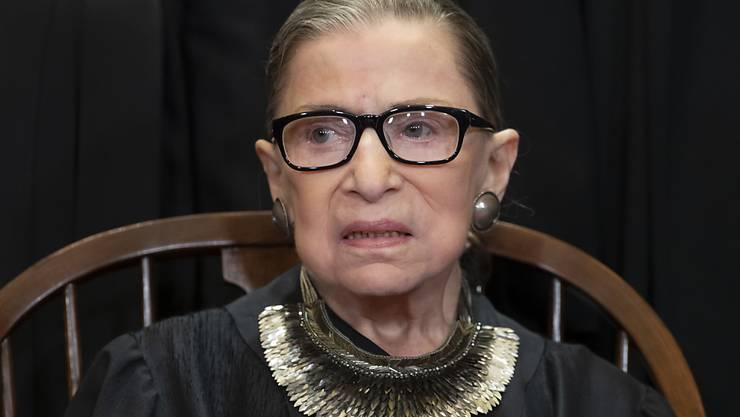 Die berühmte Richterin vom US Supreme Court, Ruth Bader Ginsburg, ist am Freitag nach längerer Krankheit verstorben. (Archivbild)