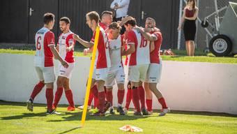 Der FC Solothurn gegen Lancy FC mit 4:2 durch.