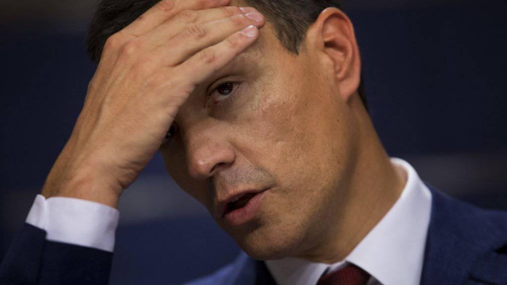 Pedro Sánchez ist wieder Chef der spanischen Sozialisten. (Archivbild)