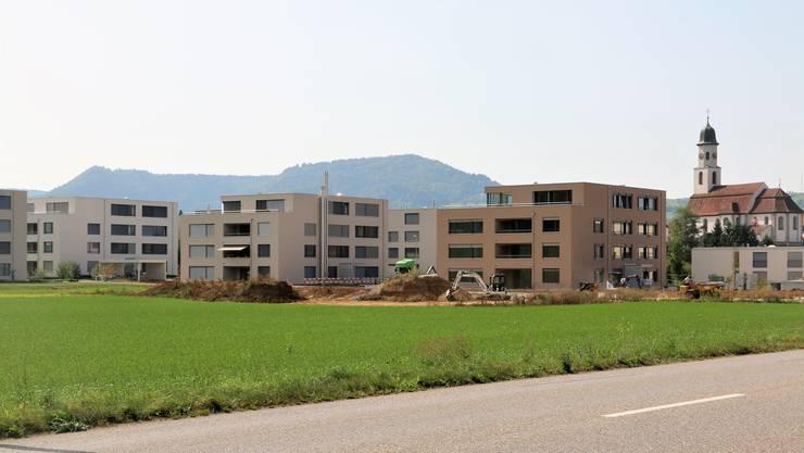 Von den 66 neuen Mietwohnungen in der Überbauung «Ob em Dorf» in Frick ist nur noch eine frei.