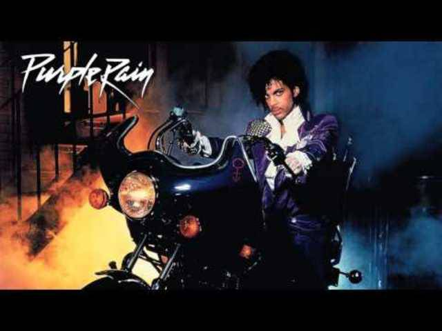Sänger Prince - Purple Rain