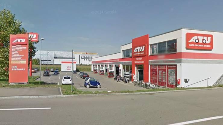 Auto-Technik Unger in Spreitenbach.