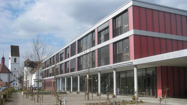 Das Alterszentrum plant einen Erweiterungsbau. Eine Passerelle soll das neue mit dem alten Gebäude verbinden. (Archiv)